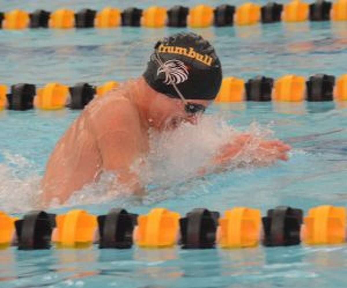 Alex Jozwa was first in the 100 breaststroke and was part of the winning 200-medley relay team