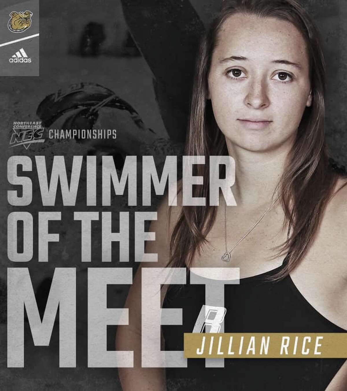 Jillian Rice took home seven gold medals from the NEC Championships.