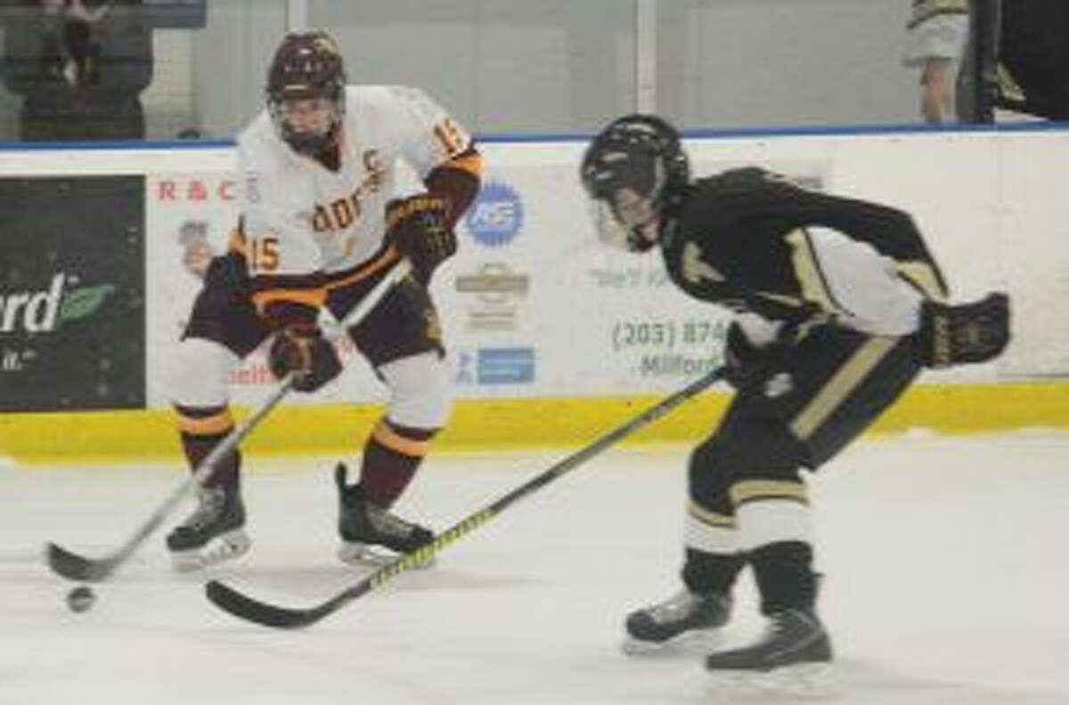 St. Joseph's Tommy Flynn had a goal and an assist for the Cadets.