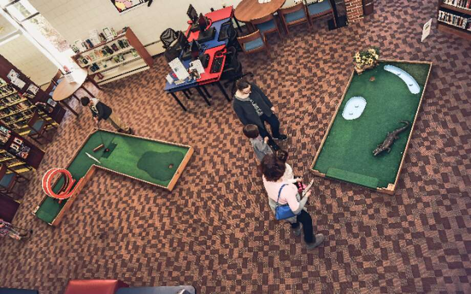 Monday's miniature golf fundraiser at the library will mark the fifth anniversary of this event.