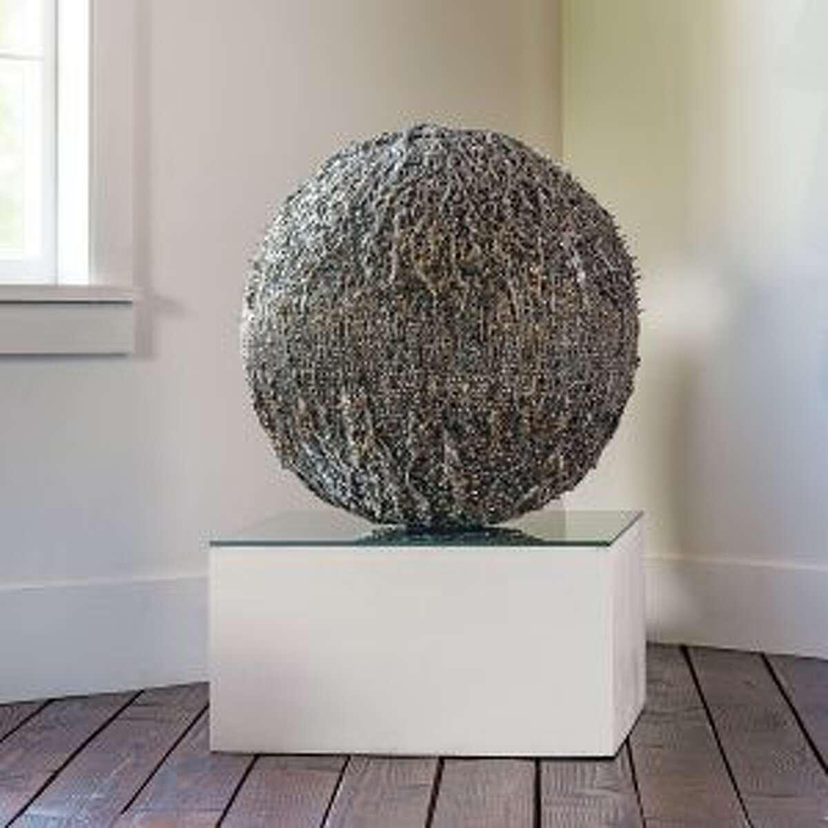 """Westport artist Norma Minkowitz's """"Excavation"""" will be included in the exhibit."""