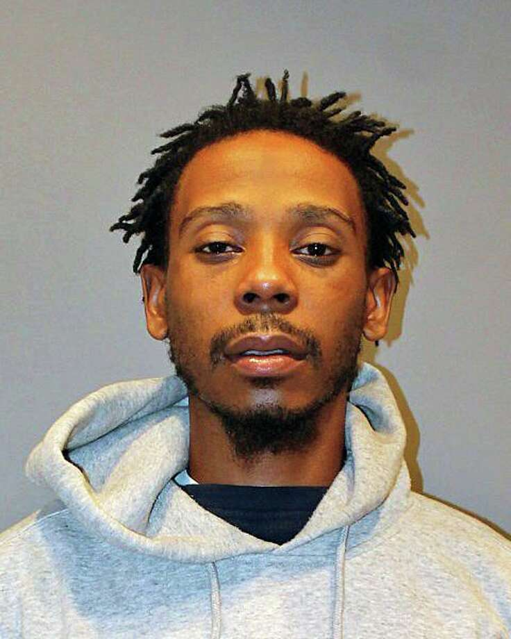 Ronald Patterson, pictured, and Aaron Perkins pleaded guilty to racing, misconduct with a motor vehicle and reckless driving in connection with a crash that killed another man. Photo: Stratford Police Department Photo / Connecticut Post Contributed