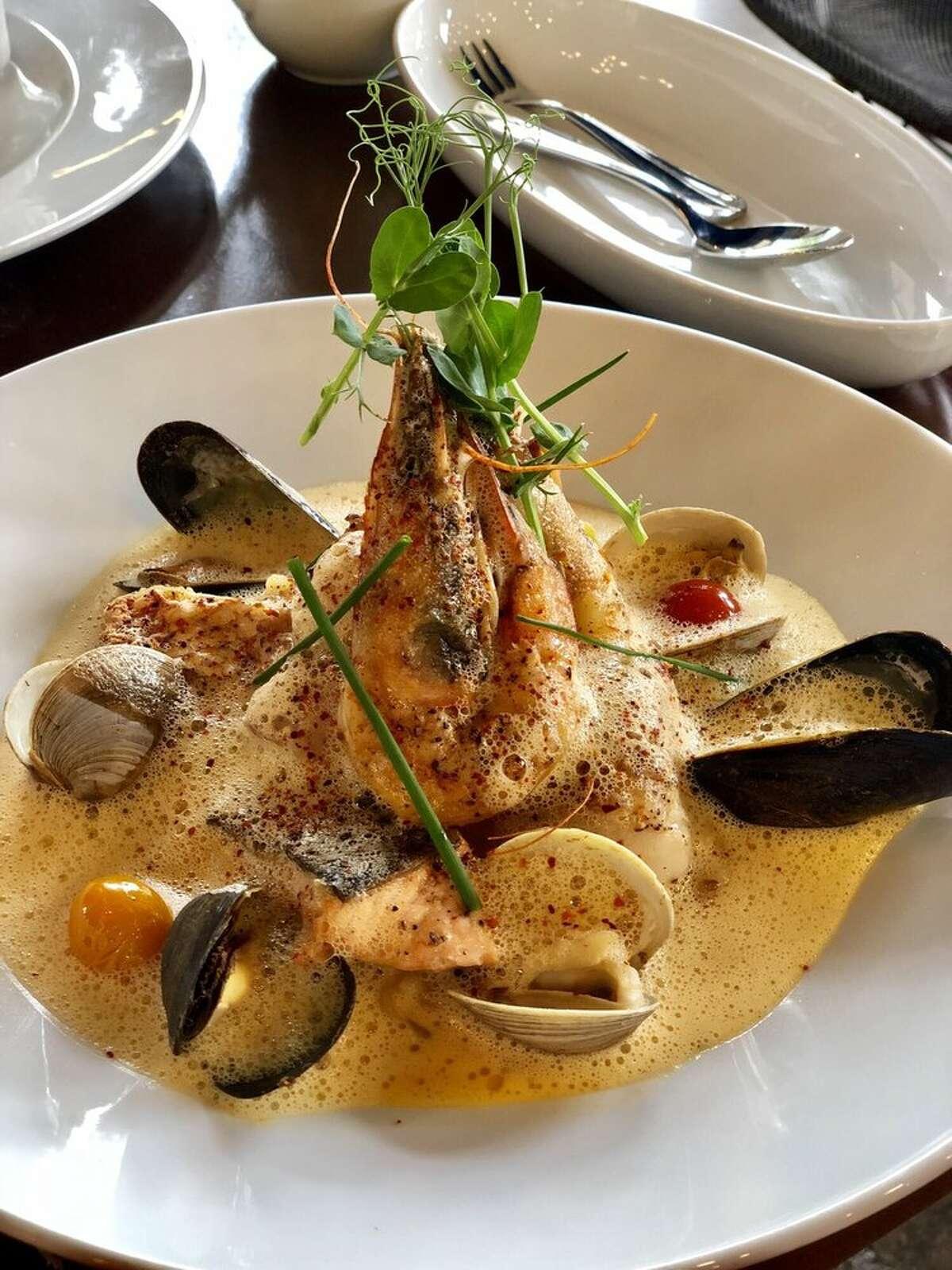 Maison Pucha Bistro 1001 Studewood Street, Ste. A, HoustonLRW lunch menu: $25LRW dinner menu: $45 Photo by: Maggie G/Yelp