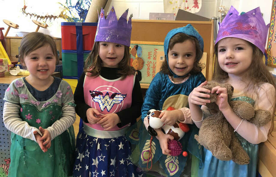 B'nai Torah Nursery School students enjoyed a Purim holiday.