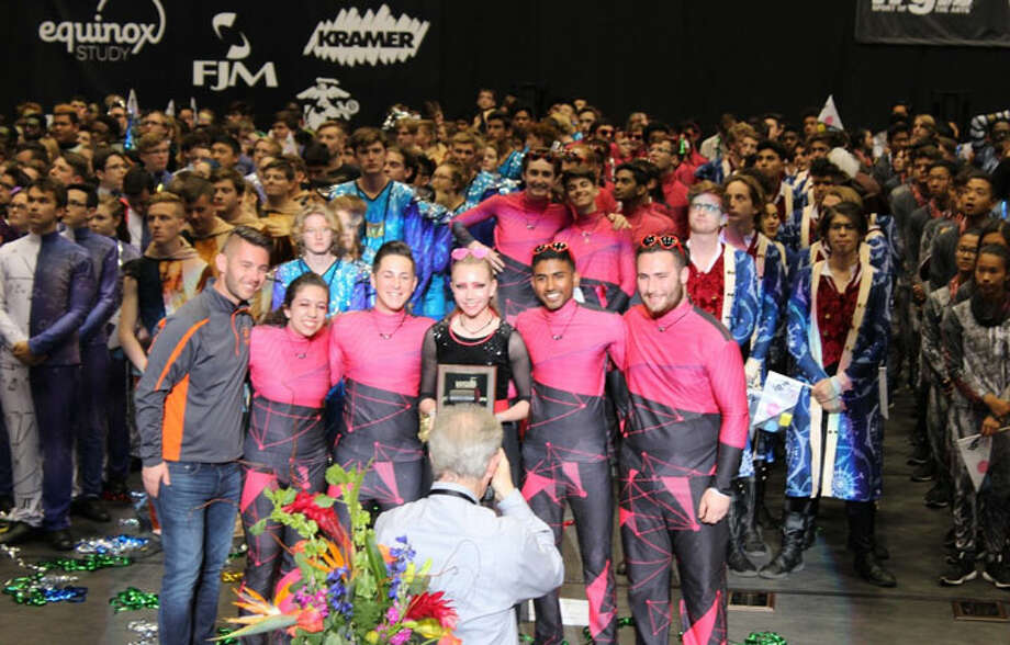 Trumbull High School Winter Percussion Ensemble placed ninth at the 2019 Winter Guard International (WGI) Open Class championship competition.