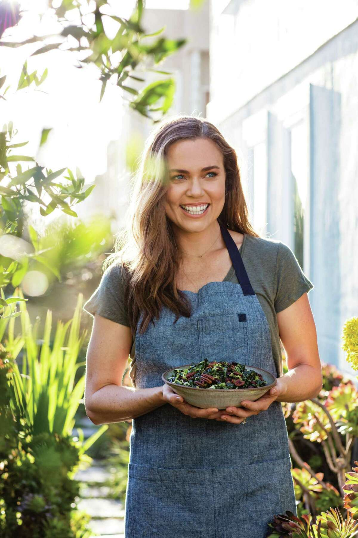 """Olympic swimmer Natalie Coughlin released a cookbook, """"Cook to Thrive: Recipes to Fuel Body and Soul"""" in early 2019."""