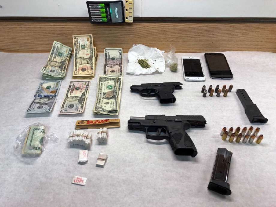 On Feb. 1, 2019, Trumbull, Conn., police seized these items during a traffic stop.