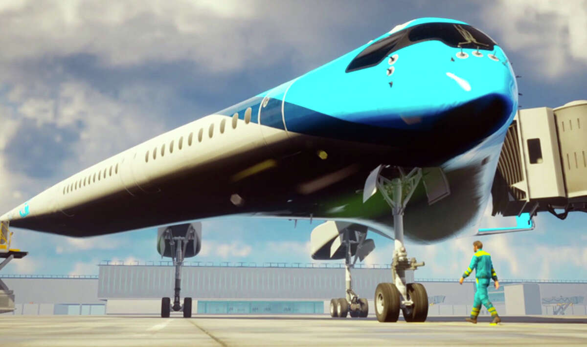 KLM estimates the Flying-V could carry more than 300 passengers.