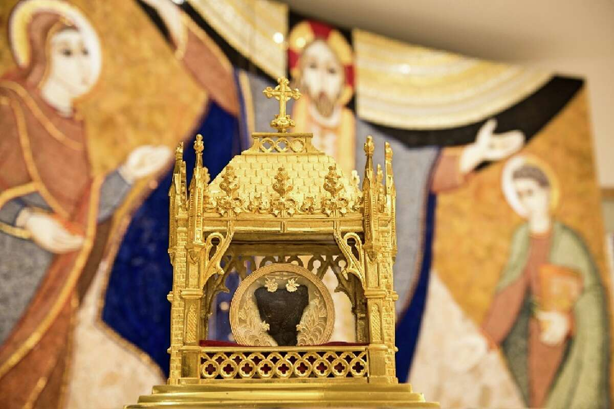 The relic of the heart of St. John Vianney will be at St. Catherine of Siena as part of a year-long pilgrimage.