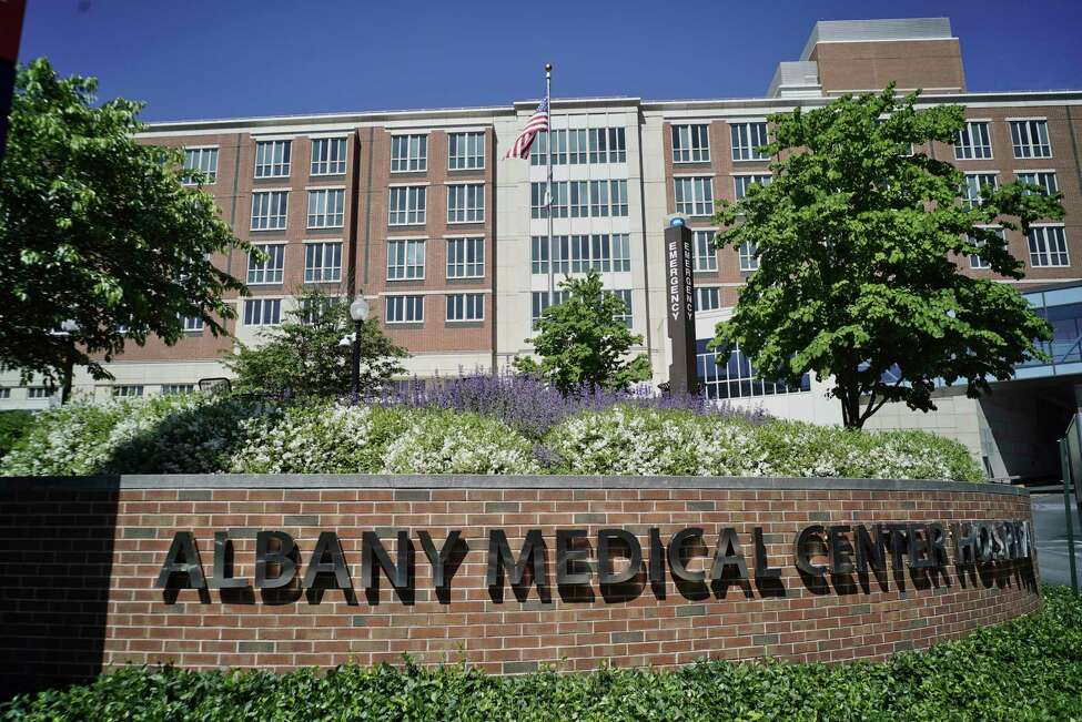 A view of Albany Medical Center on Tuesday, June 4, 2019, in Albany, N.Y. (Paul Buckowski/Times Union)