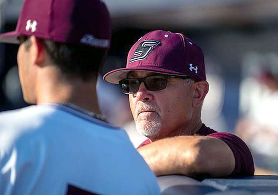 Ken Henderson has stepped down after nine seasons as SIUC's head baseball coach. Henderson, who has one year remaining on his contract, will move into a job in SIUC's athletics administration. Photo: Saluki Athletics