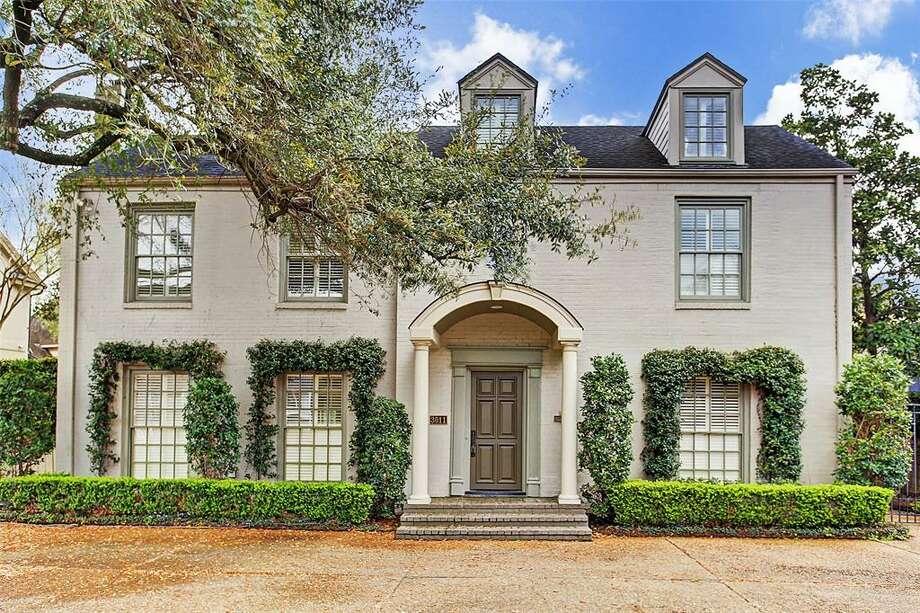 Central Houston: River Oaks3011 Locke Lane, Houston / $1.8 millionZoned to: Lanier Middle SchoolSchool Rating: 10Neighborhood Median Home Value: $1,059,000 Photo: Houston Association Of Realtors