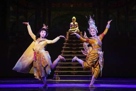"Akina Kitazawa as ""Eliza"" and Minami Yusui as ""Angel"" in the TUTS production of Jerome Robbins' Broadway."