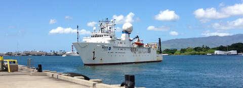 NOAA Ship Okeanos Explorer discovers unexpected shipwreck in Gulf of