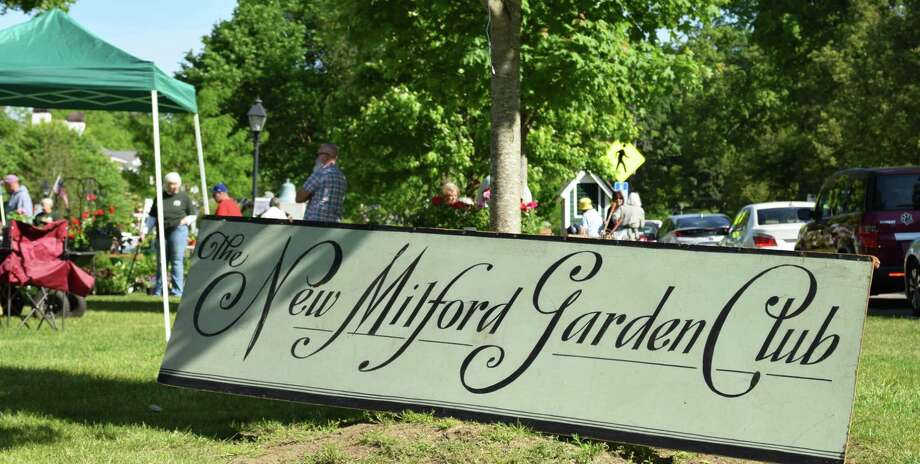 The annual plant sale, hosted by the Garden Club of New Milford, attracts gardeners of all skill levels. Photo: Deborah Rose / Hearst Connecticut Media / The News-Times  / Spectrum