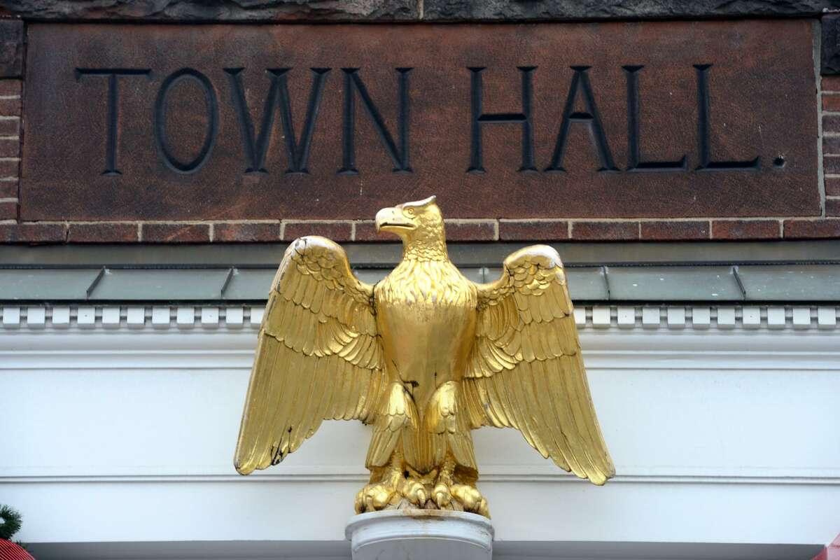 Town Hall, in Ridgefield, Conn.
