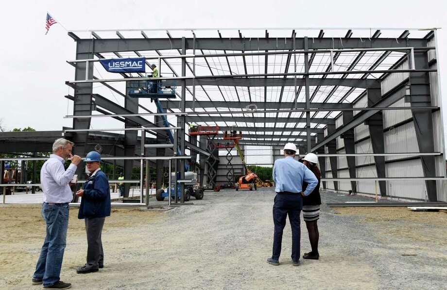 Photos: Machine manufacturer building new HQ in Mechanicville