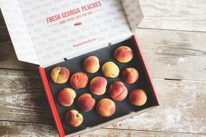 The Peach Truck will make stops in Porter and Humble as part of their nationwide tour to provide fresh Georgia peaches.