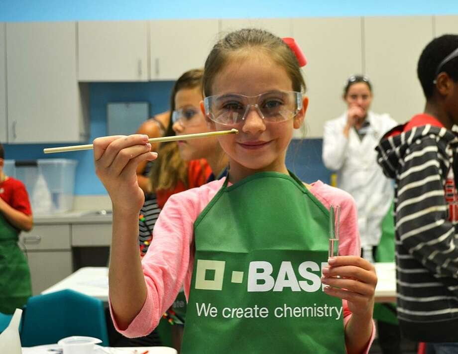 BASF Corp., a chemical company, partners up with museums, including the Children's Museum of Houston, to provide BASF Kids' Lab. Photo: Children's Museum Of Houston