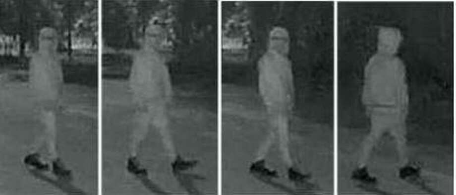 Photos show two men the Multi-County Crime Stoppers say they suspect burglarized a Sam Houston State University building construction site in Conroe. Photo: Courtesy Of The Multi-County Crime Stoppers