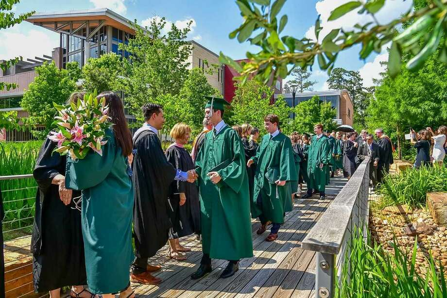 At the John Cooper School commencement ceremony held May 24 for the Class of 2019, 112 students crossed the stage to receive their diplomas. Photo: Submitted Photo / Submitted Photo