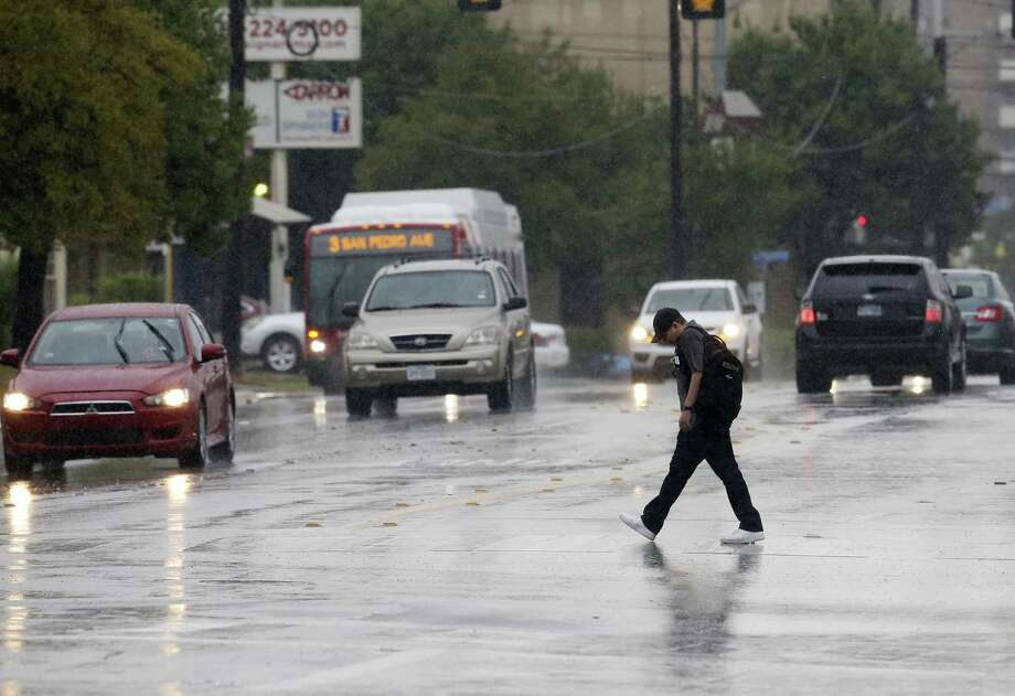 More rain is expected in San Antonio on June 17, 2019. Photo: Express-News File Photo / © 2018 San Antonio Express-News