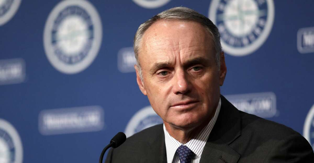 PHOTOS: Astros game-by-game Rob Manfred, Commissioner of Baseball, addresses media members before a baseball game between the Seattle Mariners and Houston Astros Tuesday, June 4, 2019, in Seattle. (AP Photo/Elaine Thompson) Browse through the photos to see how the Astros have fared in each game this season.