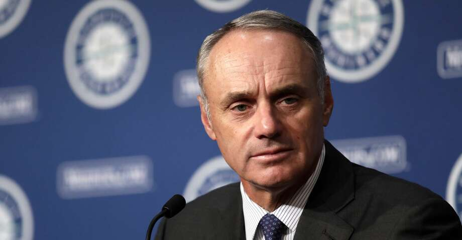 117d857053 PHOTOS: Astros game-by-game Rob Manfred, Commissioner of Baseball, addresses