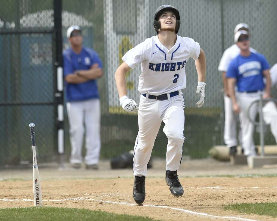 Waterbury, Connecticut - Tuesday, June 3, 2019: Amity H.S. vs. Southington H.S. during the CIAC Class LL 2019 State Baseball Tournament Semifinals Tuesday at the Municipal Stadium in Waterbury. Southington H.S. defeated Amity H.S. 3-2. Photo: Peter Hvizdak / Hearst Connecticut Media / New Haven Register