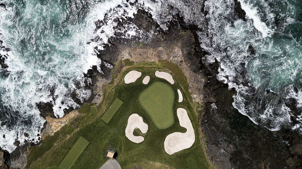 No. 7 at Pebble Beach, the iconic short par-3, will be on display at noon Thursday in the Pebble Beach Pro-Am (Golf Channel).