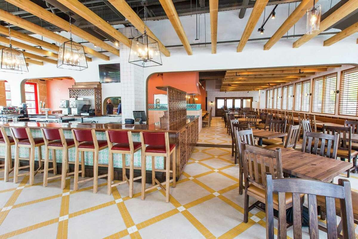 The Original Ninfa's Uptown Houston 1700 Post Oak The menu, including standout fajitas and killer margaritas, atNinfa's Uptown is exactly the same as its sister location, The Original Ninfa's on Navigation.