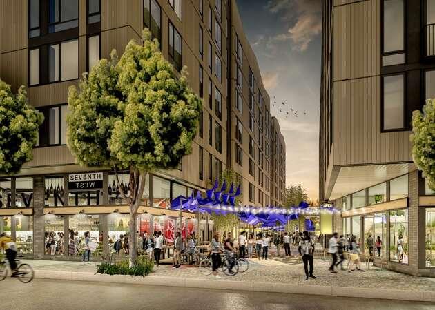 West Oakland readies for massive, transit-oriented apartment complex