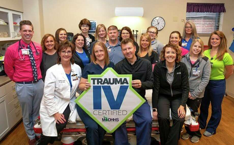 Scheurer Hospital has been officially designated as a Level IV trauma facility. (Submitted Photo)
