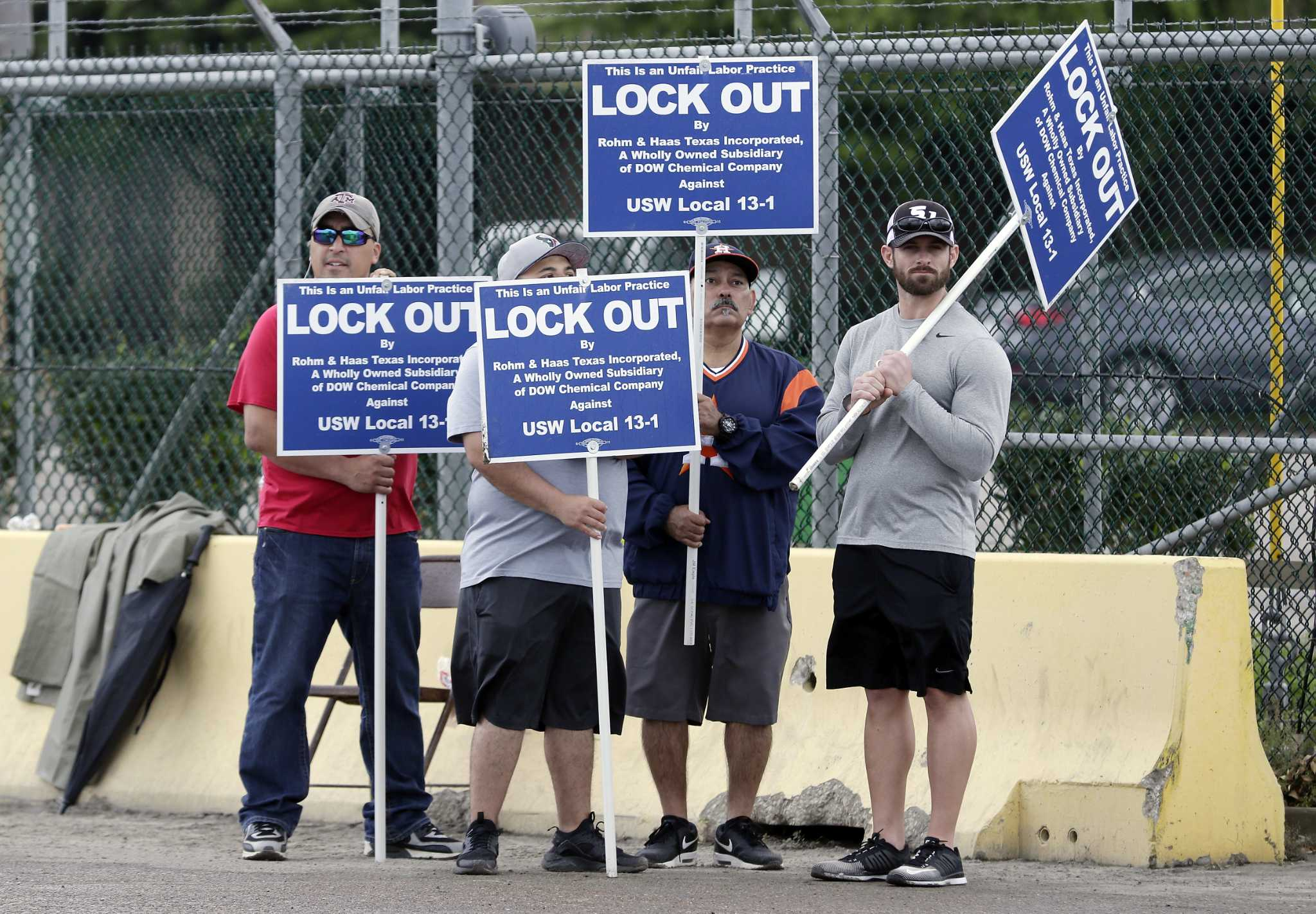 Dow Chemical lockout ending in Deer Park - Houston Chronicle