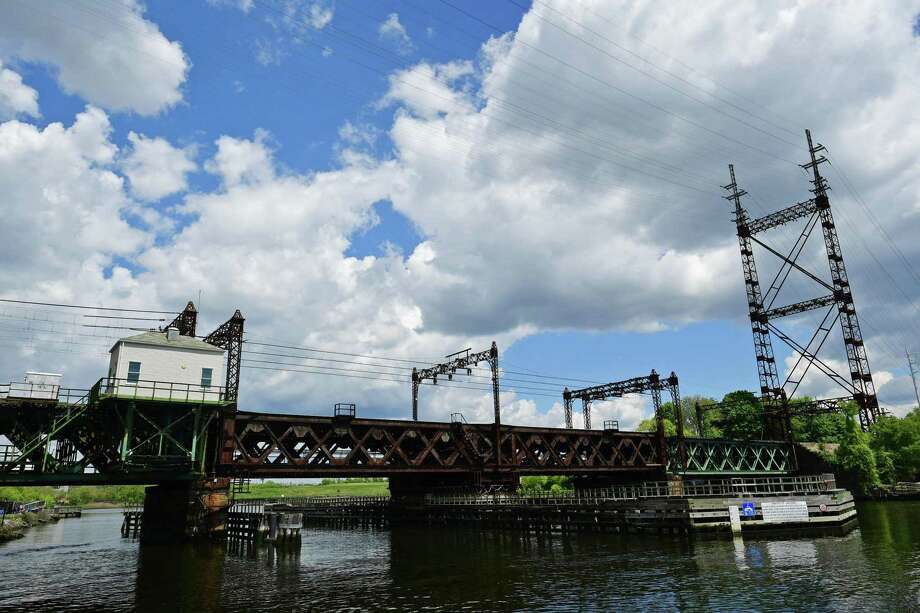The Metro-North Walk Bridge Thursday, May 16, 2019, in Norwalk, Conn. The more than 100 year old railroad bridge is slated to be replaced over the coming years. Photo: Erik Trautmann / Hearst Connecticut Media / Norwalk Hour