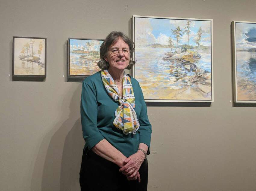 Anne Diggory at Albany Institute of History and Arts. (Courtesy: Anne Diggory)
