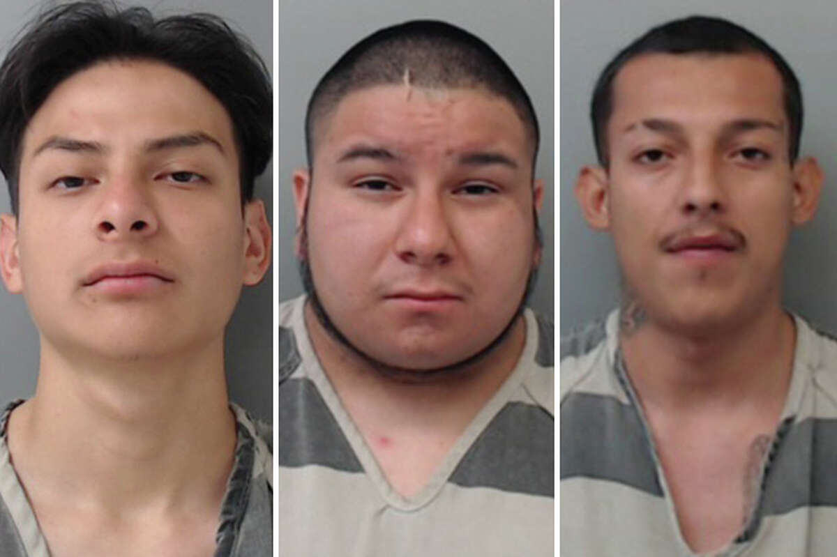 Three men have been arrested for stealing three 18 packs of beer from a Stripes in south Laredo, authorities said Tuesday.