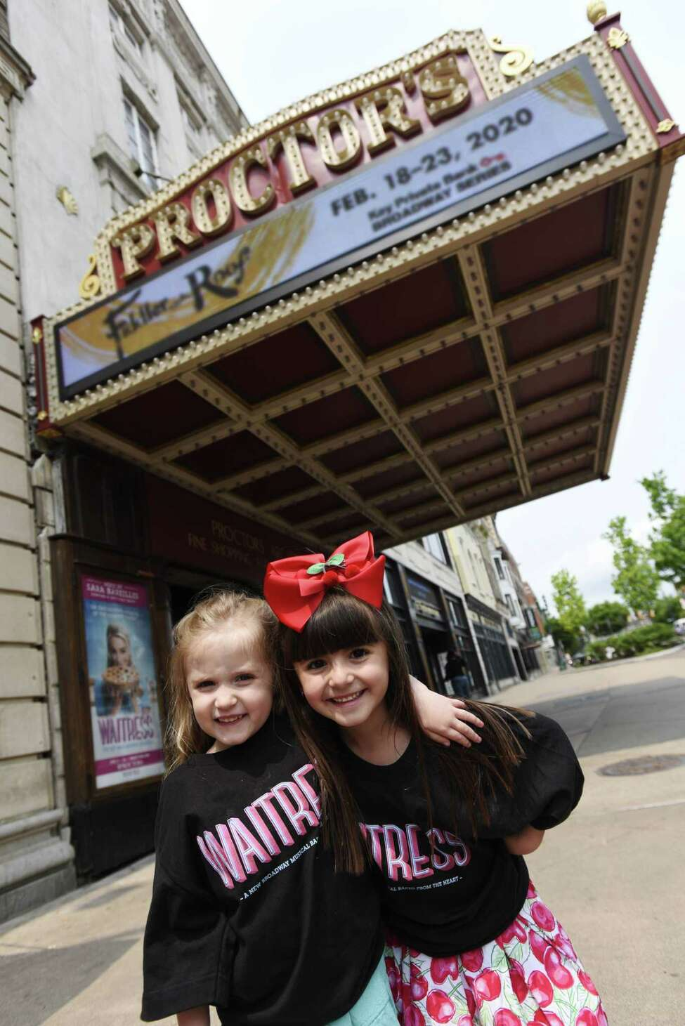 Genevieve Carmichael of Amsterdam, left, and Viviana DiMezza of Perth will play Lulu, the daughter of the title character in the musical