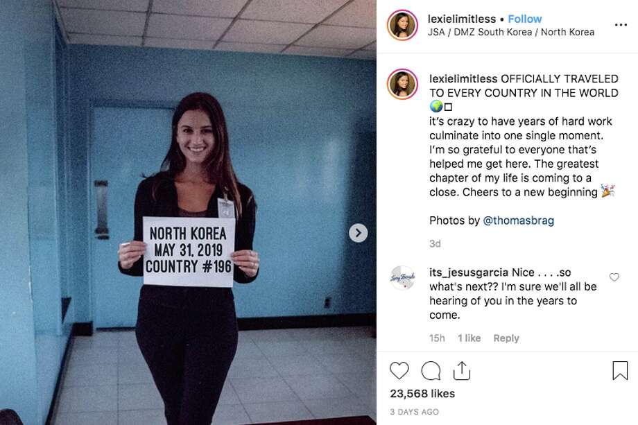 NorCal woman is youngest person to travel every country, including North Korea (sort of)