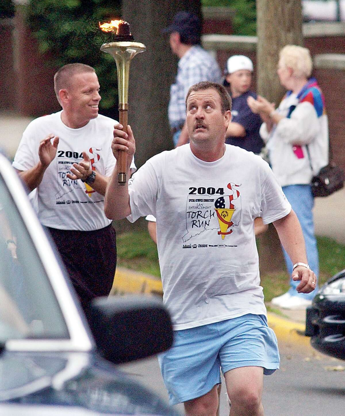 In this file photo, in Middletown - the 2004 Law Enforcement Torch Run.