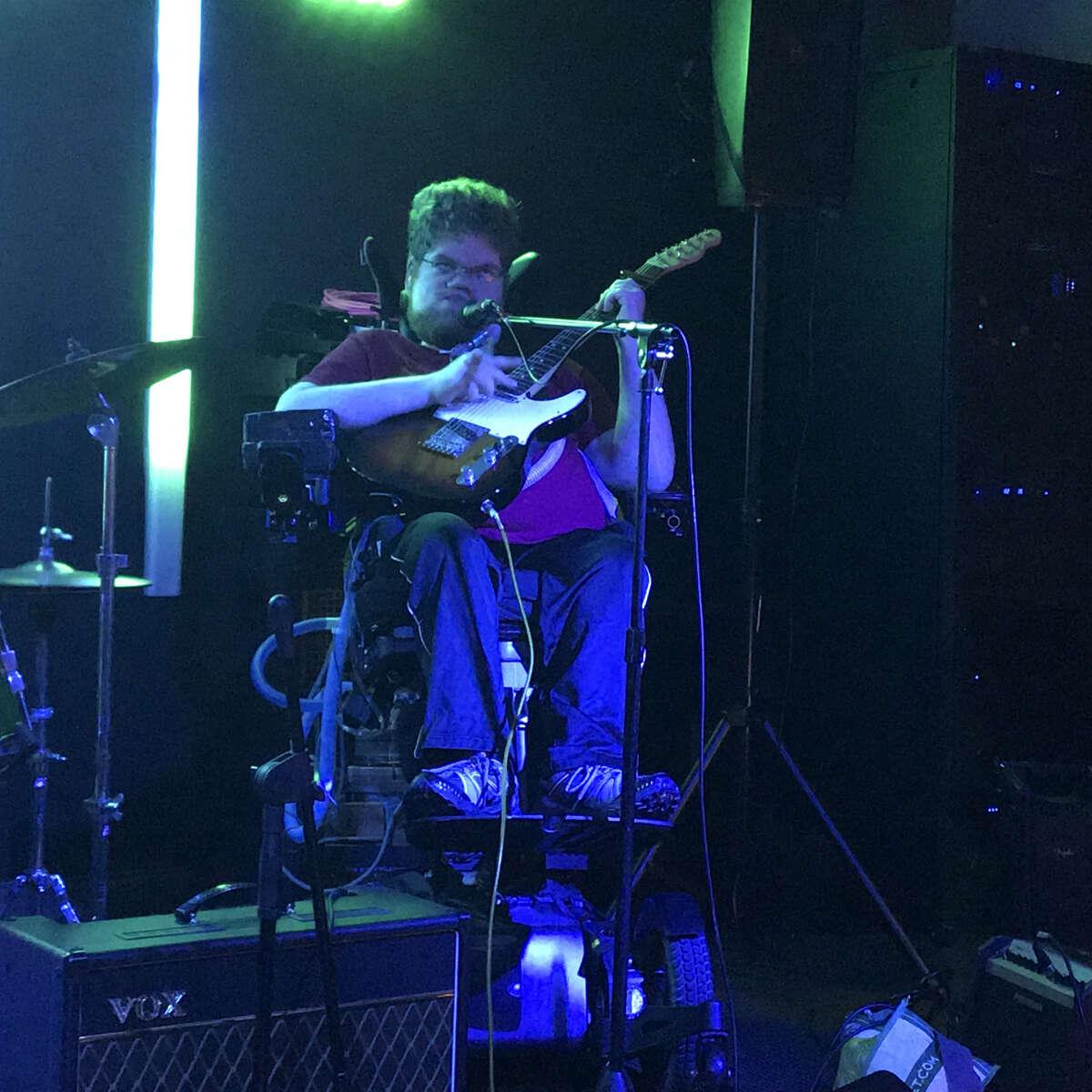 Lucas Garrett performing at Downtown Social in Glens Falls.