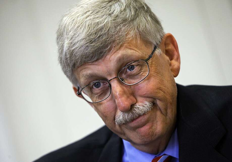 FILE - In this Aug. 17, 2009 file photo, Dr. Francis Collins, director of the National Institutes of Health, at NIH headquarters in Bethesda, Md. The Trump administration is ending the medical research by government scientists using human fetal tissue. Officials said Wednesday government-funded research by universities will be allowed to continue, subject to additional scrutiny.  (AP Photo/J. Scott Applewhite) Photo: J. Scott Applewhite, Associated Press