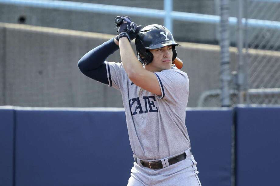 Yale's Griffin Dey was selected by the Detroit Tigers in the MLB Amateur Draft. Photo: Gregory Payan / AP / Copyright 2018 The Associated Press. All rights reserved.