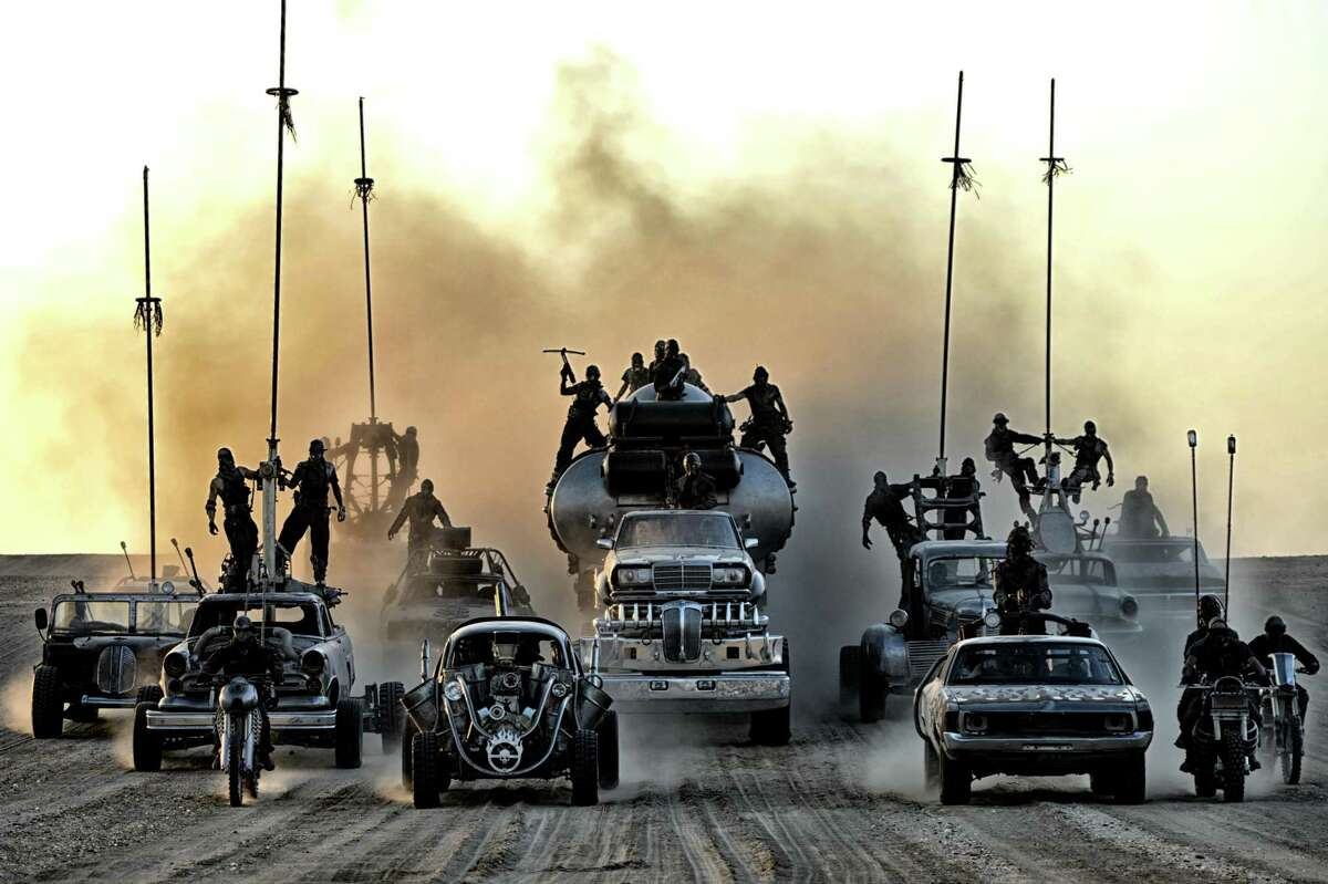 """Shopping for a car in Houston can leave you feeling like this scene from """"Mad Max: Fury Road."""""""