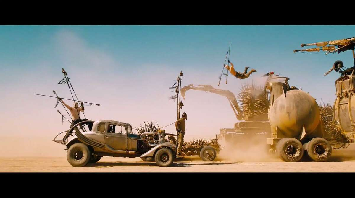 """How would this car from """"Mad Max: Fury Road"""" fare on I-610?"""
