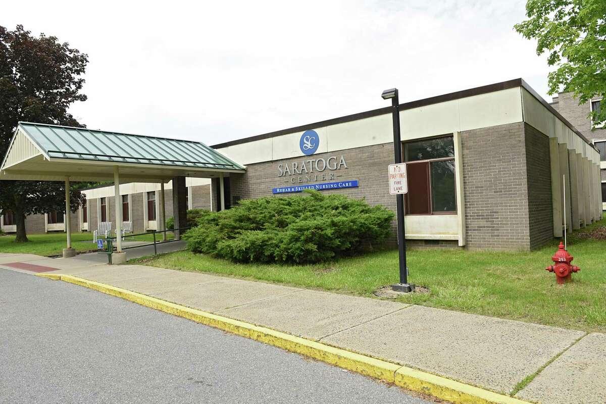 Exterior of Saratoga Center for Rehab & Skilled Nursing Care on Wednesday, June 5, 2019 in Ballston Spa, N.Y. (Lori Van Buren/Times Union)