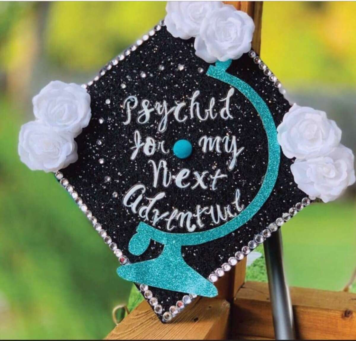 Graduation cap picture submitted by Veronica Abrego on Saturday, May 25, 2019.