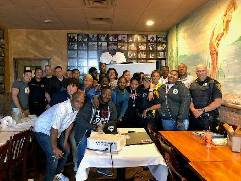 The Bridgeport Police Department hosted a banquet for local students who recently finished a spring boxing program.The banquet took place on Tuesday, June 4, 2019, at Vazzy's in Bridgeport, Conn. Photo: Contributed Photo