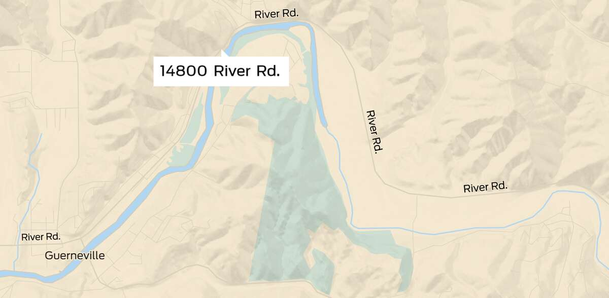 14800 River Rd. in Guerneville, Ca.
