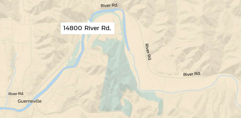 14800 River Rd. in Guerneville, Ca. Photo: SFGATE